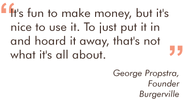George Propstra Quote