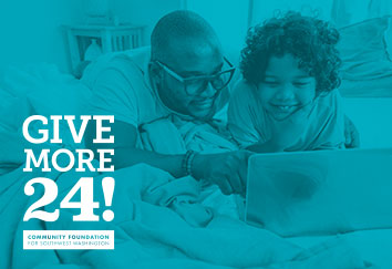 Give More 24! - SW Washington's day of online giving