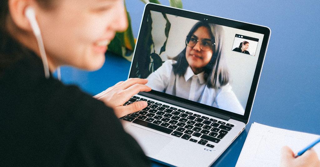 Students providing study support virtually